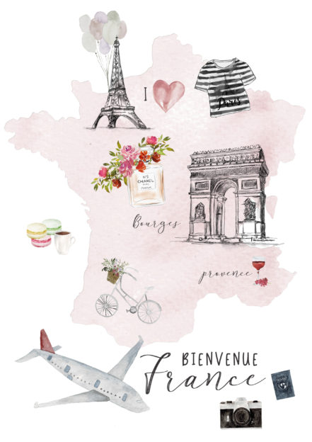 France Illustration A Creative Mess