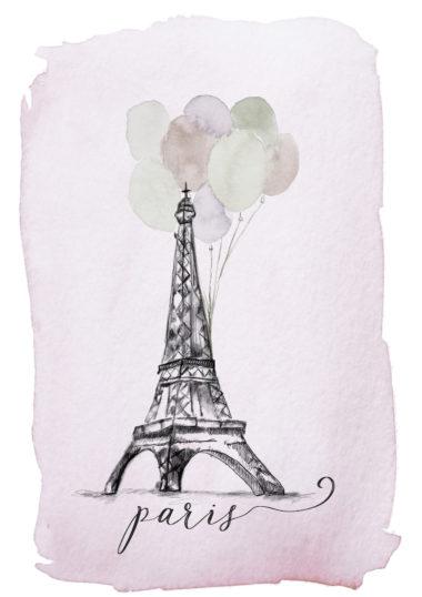 Paris Illustration A Creative Mess