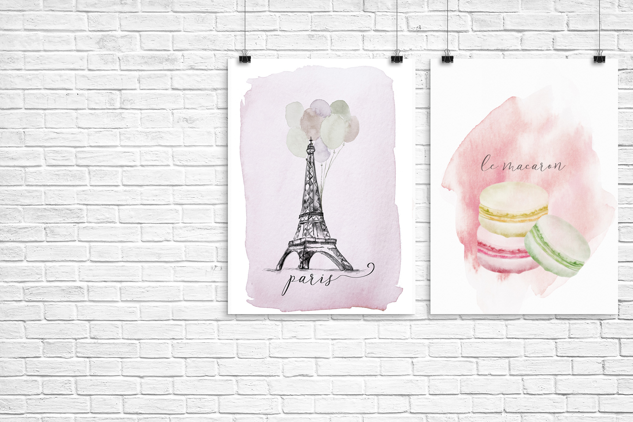 free french illustrated printables