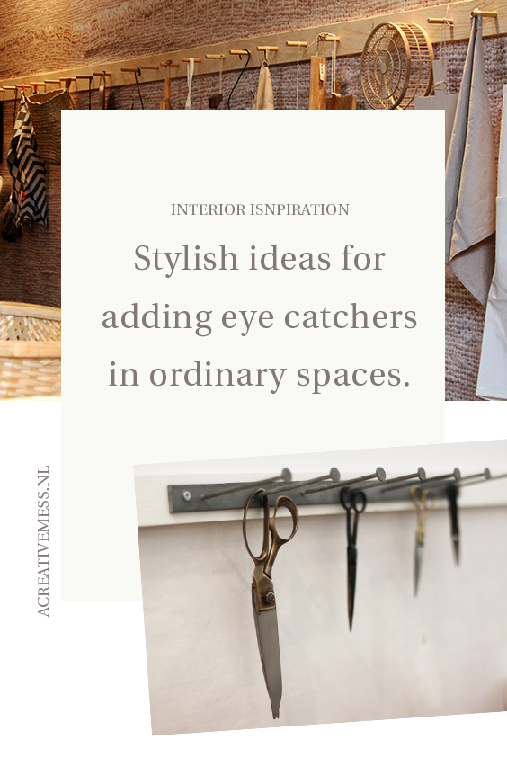 stylish ideas for adding eye catchers in ordinary spaces