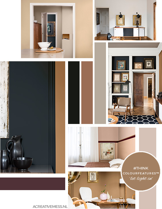 FLEXA / DULUX COLOURFEATURES 2019 THINK LET LIGHT IN SPICED HONEY