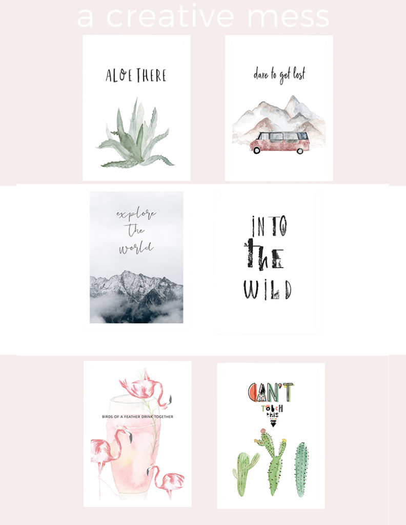 free printables & templates from a creative mess