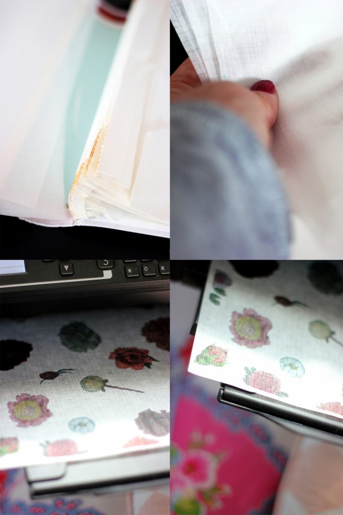 a Creative mess Blog - DIY wrapping paper + Instructions