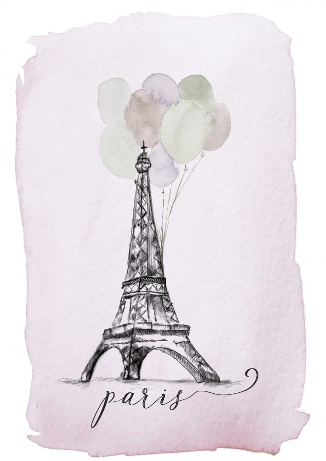 Paris Illustration A Creative Mess