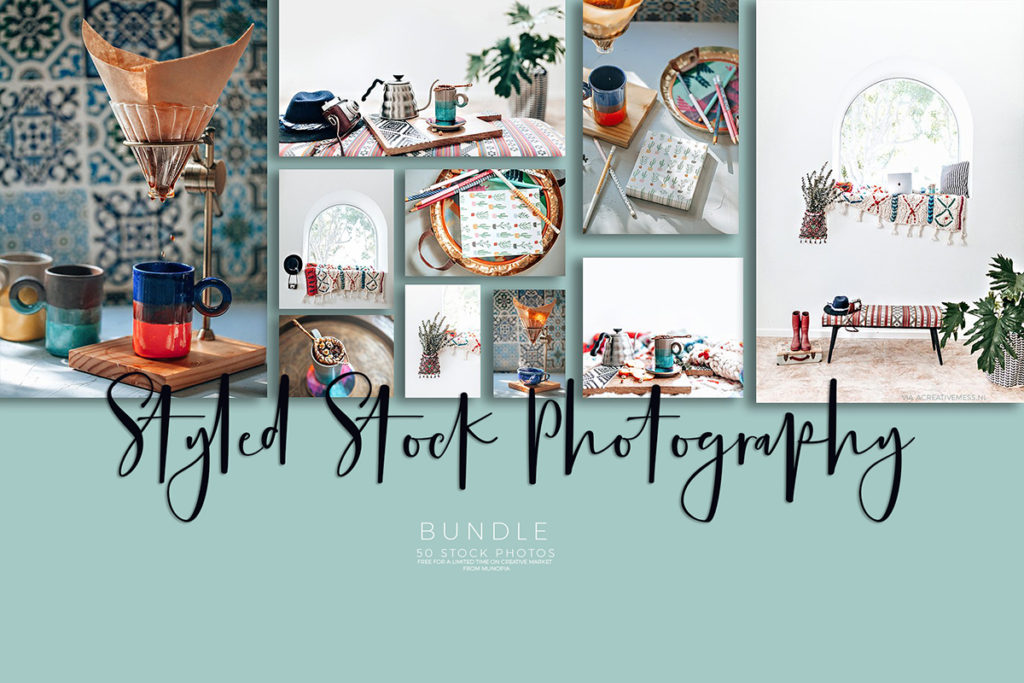 Munopia Kaleidoscope Lifestyle Photo Bundle via @ A Creative Mess [.nl] #freestockphotos #freestockphotography #freebies #stockphotographybundle #freepics