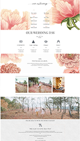 peonies+blush WordPress Concept Micheile Henderson